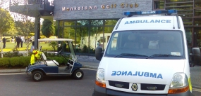 St John Ambulance at Monkstown Golf Course